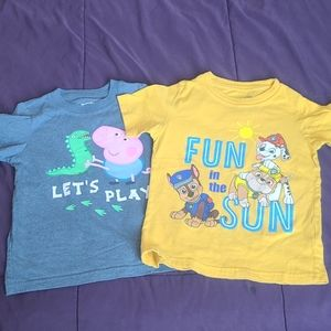 Toddler t-shirts 4t boys